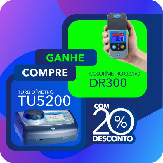 TURBIDIMETRO BANCADA TU5200 EPA RFID/ETIQUETA ANATEL + DR300