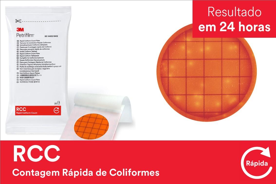 PETRIFILM RCC CONT RAP COLIF 6402 50UN