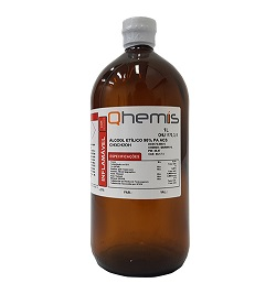 ALCOOL ETILICO 95% PA ACS 1L